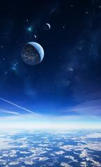 Im Himmel einer anderen Welt