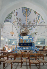 Interior Of Synagogue Sanctuary