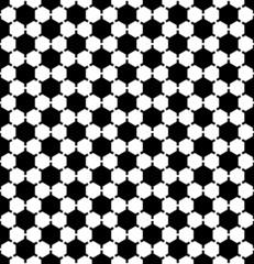 Hexagons pattern. Seamless geometric texture.