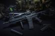 assult rifle background - 82180915