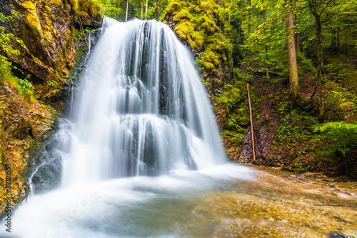 Leinwanddruck Bild Josefstaler Wasserfall