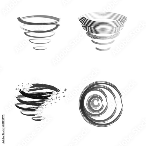 Logo cleaning whirlwind - 82182770
