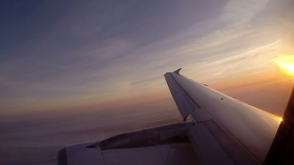 Virage en avion