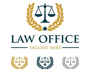 Scale of Justice Law Firm Logo v.3