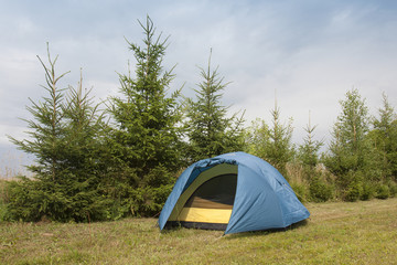 Tenting in the Wilderness