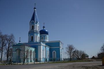 Церковь Троицы Живоначальной (с. Лебяжье Курская область)