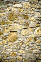 Old Stone Wall, Tuscany, Italy