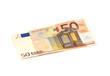 Leinwanddruck Bild - 50 Euro