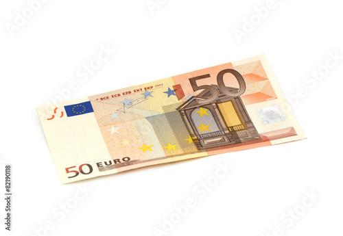 Leinwanddruck Bild 50 Euro