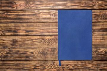 Moleskin. Black notebook