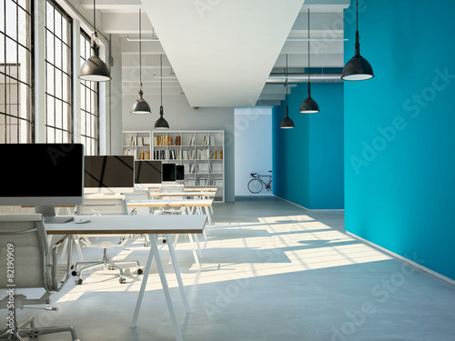 Großraum Büro © 2mmedia