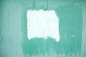 Paint Covering Graffiti Tag