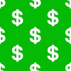 Fondo dolares fondo verde