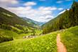 Leinwanddruck Bild - Ultental Südtirol