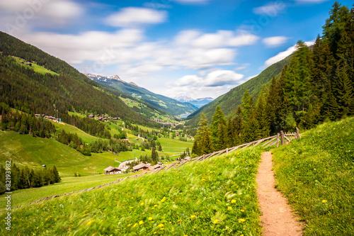 Leinwanddruck Bild Ultental Südtirol