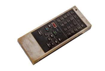 Old remote control for television