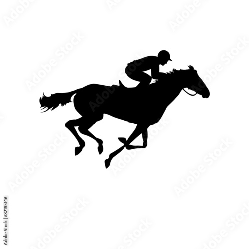 Fototapeta Horse. Derby