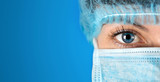 Surgeon gazing hospital close up shot - 82197100