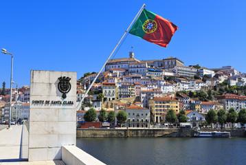 Santa Clara Bridge in Coimbra, Portugal