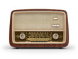 canvas print picture - Vintage radio