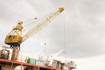 Crane at Port