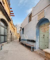 Alleyway Entrance To Synagogue