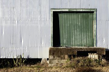Corrugated Warehouse Door