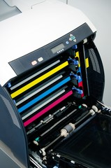 Color laser printer toners cartridges