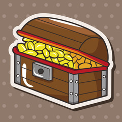 pirate treasure theme elements
