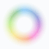 Vector Background #Colorful Polka Dot Circle Pattern