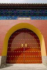 Red Gate Doors of the Forbidden City