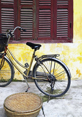 Bicycle Outside an Old Home
