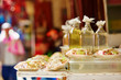 Argan oil on Moroccan market - 82216118
