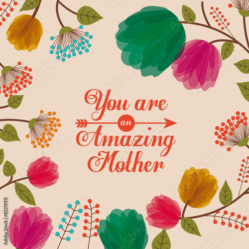 Fototapeta Mothers day design