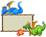Dragons and sign