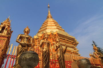 Wat Phra That Doi Suthep in Chiang mai province, Thailand.