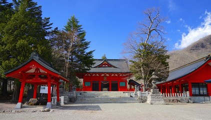 The Akagi shrine picture