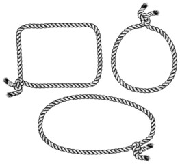 set of rope knot