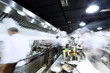 modern kitchen and busy chefs - 82226130