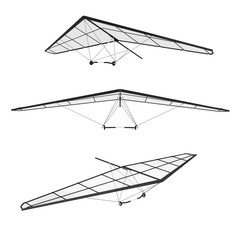 Extreme Closeup Hang Glidings