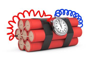 Dynamit with Stop Watch Detonator