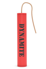 Red Dynamite with Dynamite Sign
