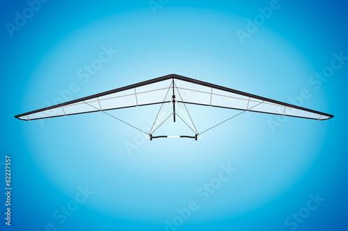 Extreme Closeup Hang Gliding - 82227557