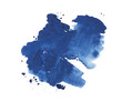 Abstract watercolor aquarelle hand drawn colorful blue art paint - 82227924