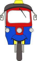 3-wheels vehicle