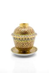 Antique Chinese tea bowl