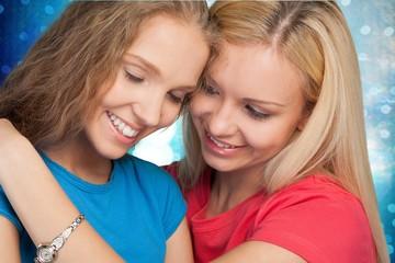 Lesbian. Happy moment
