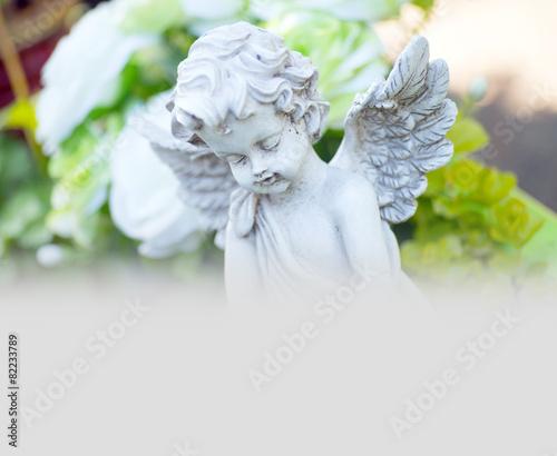 Zdjęcia na płótnie, fototapety, obrazy : Engel auf einem Friedhof