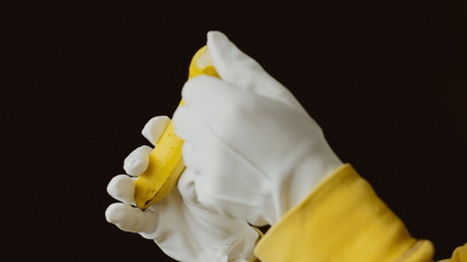 Banana peel gloves
