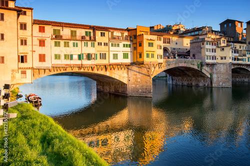 Deurstickers Oude gebouw Firenze - Ponte Vecchio
